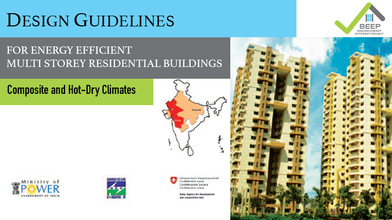 Design Guidelines for Energy-Efficient Multi-Storey Residential Buildings: Composite and Hot-Dry Climates