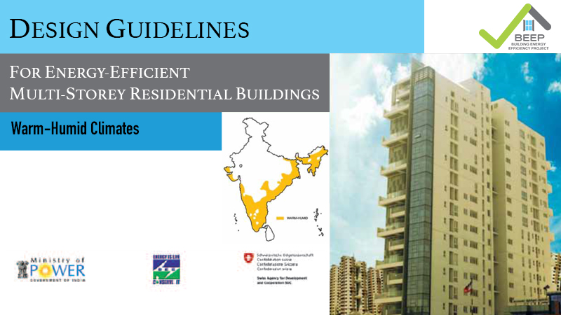 Design Guidelines for Energy-Efficient Multi-Storey Residential Buildings: Warm-Humid Climate