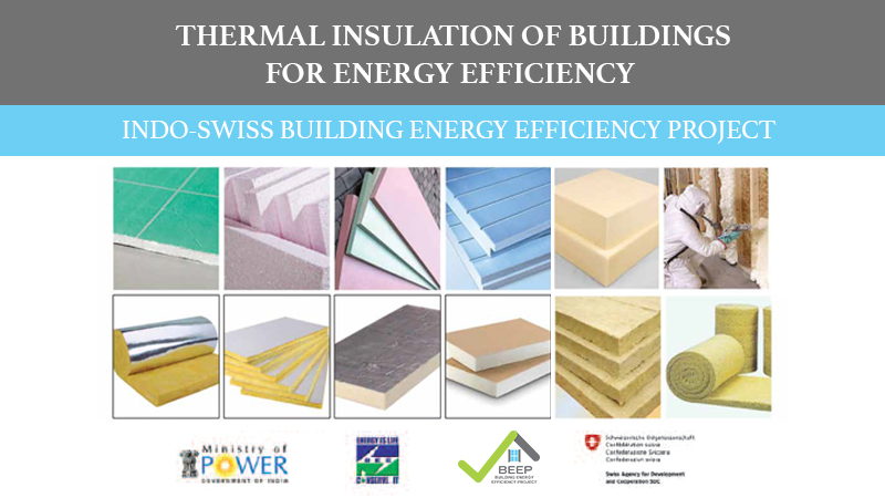 Booklet: Thermal Insulation of Buildings for Energy Efficiency