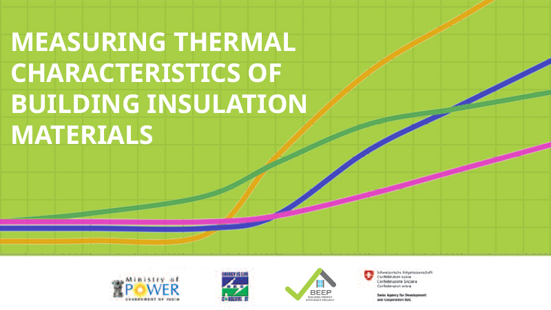 Training Manual on Measuring the Characteristics of Thermal Properties of Building Insulation Materials