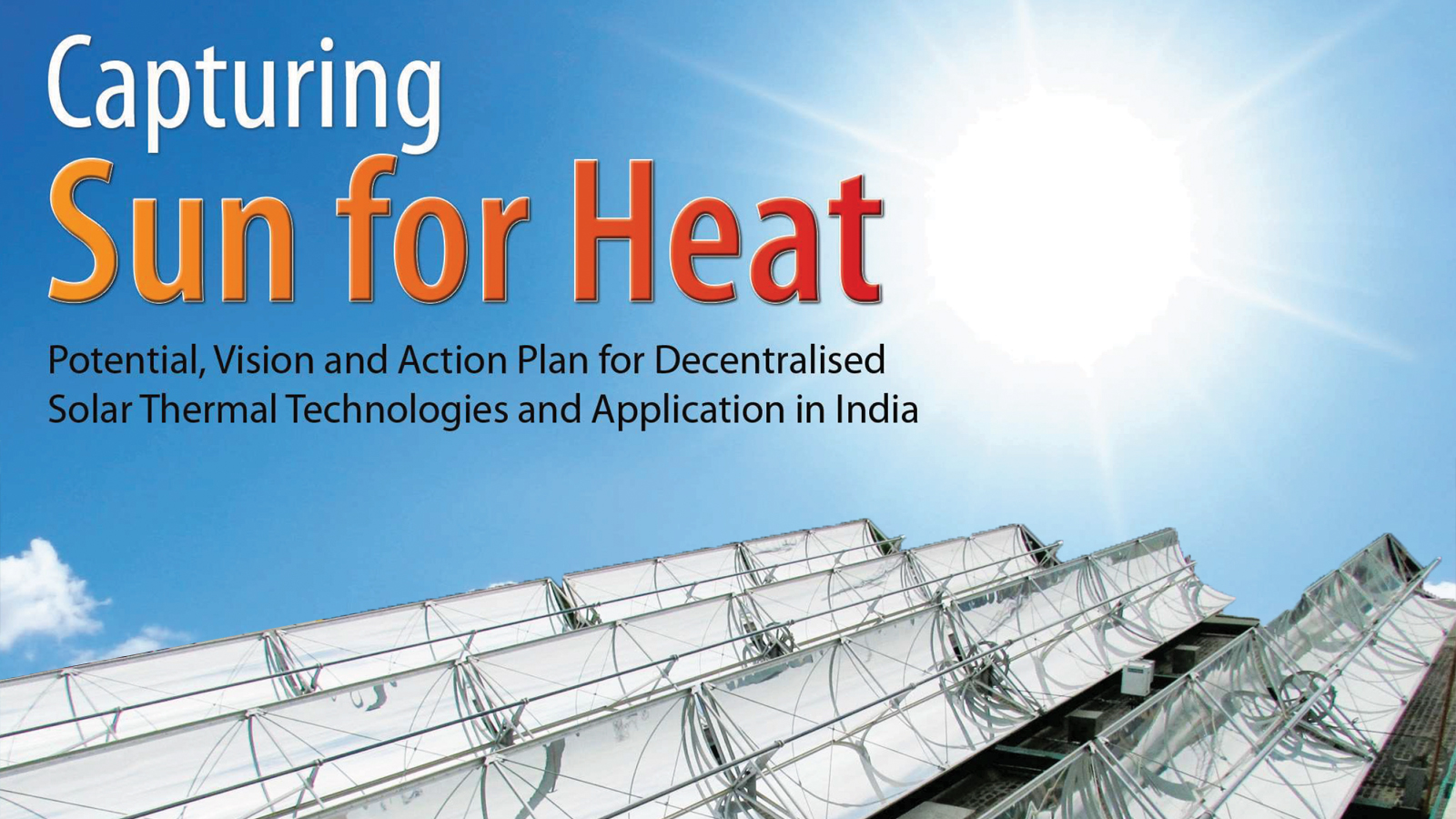 Solar Thermal Roadmap for India