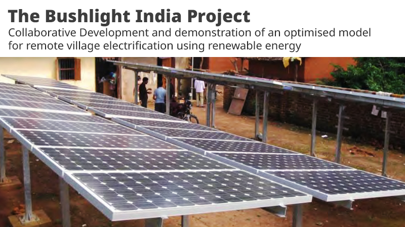PV mini-grid based rural electrification
